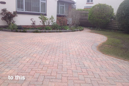 Pressure and Jet Washing Services in Burnham on Sea, Weston Super Mare and Bridgwater