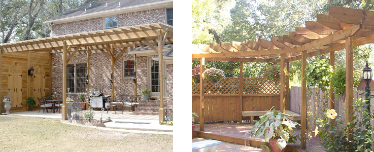 Pergola Design and Installation in Burnham on Sea, Weston Super Mare and Bridgwater