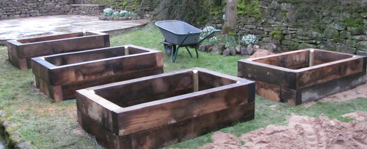 Raised Beds Installation and Build
