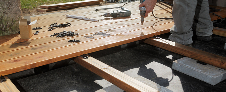 Decking Installation and Design in Burnham on Sea, Weston Super Mare and Bridgwater