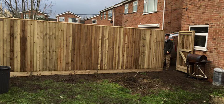 Fence Replacement - Weston Super Mare