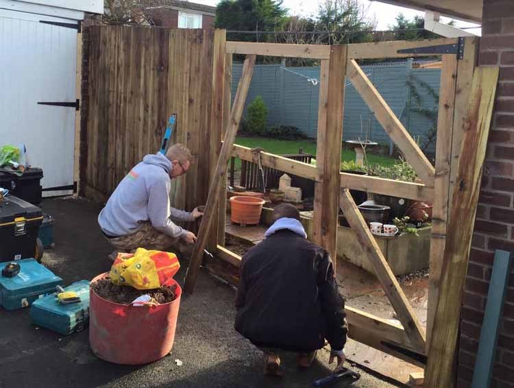 Fencing Installation - Weston Super Mare
